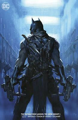 BATMAN WHO LAUGHS THE GRIM KNIGHT #1 VF/NM STOCK IMAGE painted cover
