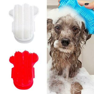 Pets Brush Dog Cat Puppy Hair Groom Shed Clean Glove Comb Trimmer Bath Massage