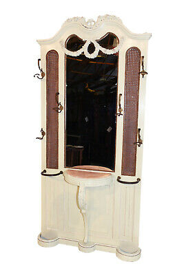 Unique Antique Painted French Louis XV Hall Rack, 19th Century