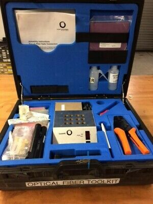 Fiberoptic Cable Splicer SC and ST Connectors Lucent Technologies  Field Kit