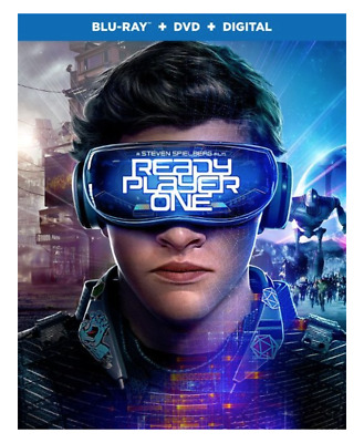 Ready Player One   Blu-Ray, Dvd  No Digital  Pre-Owned Free Shipping!