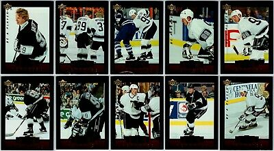 1995-96 BE A PLAYER GREAT MEMORIES WAYNE GRETZKY COMPLETE 10 Card INSERT Set Lot