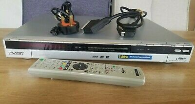 Sony RDR-HX525 DVD Recorder with 80GB Hard Drive - SILVER + Remote GWC