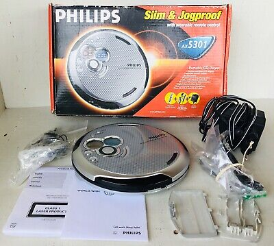 Philips AX5301 - CD Walkman Portable CD music player AS NEW IN ORIGINAL BOX
