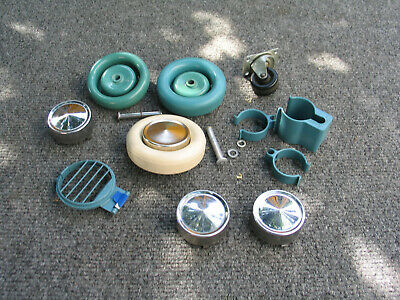 Electrolux Model G Used Repair or Replacement Items wheels  caps and other