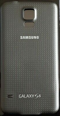 Samsung Galaxy S5 SM-G900 Battery Back Cover Replacement Black
