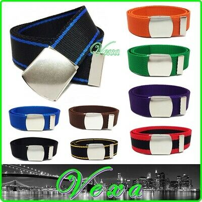 VEXA Kids Youth Webbing Trouser Belt 30mm 6-16yrs 70-90cm Toddler Boys Girls UK