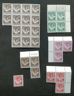 Northern Rhodesia KGVI Mint Stamps