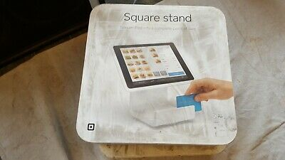Square Stand for iPad point of sale complete with manual and cords