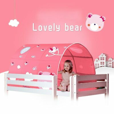 Children Kids Baby's Playhouse Folding Decoration Tent Bed Tunnel Toy