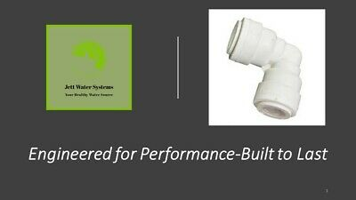 "3/8"" Union Elbow Water Fitting (Mur-Lok)-John Guest Compatible"