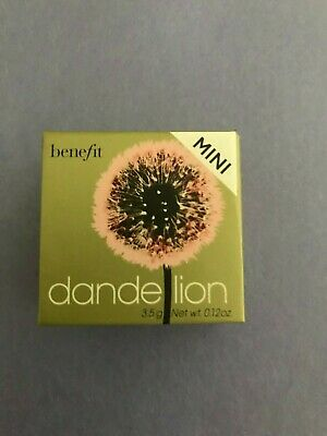 BENEFIT DANDELION Baby Light Pink Powder Blush Box BRUSH 0.12 oz ( MINI SIZE)