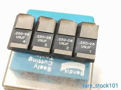 Geometric Thread Chasers 1/4-28 UNJF Bendix Besly 9/16-20 Die 45 Degree Chamfer
