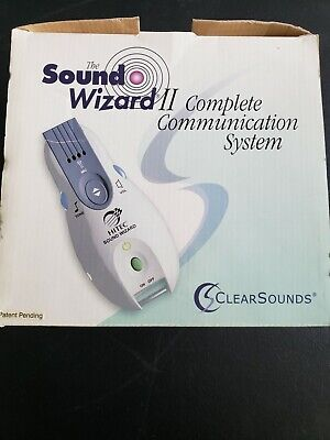 Sound Wizard II Hard of Hearing Communication System TV & Speech Amplification