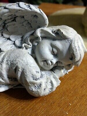 Beautiful Sleeping Angel Latex Mold For Use With Cement, Plaster, Resin.