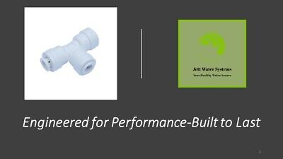 "1/4"" Union Tee Water Fitting (Mur-Lok)-John Guest Compatible"