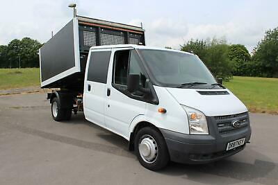 Ford Transit 2.2TDCi ( 155PS ) 350 Double Cab ARB / TREE TIPPER