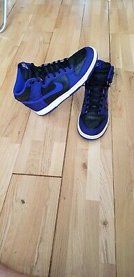 341925fd04880 Nike Dunk High Tops Blue Trainers Men's Rare Model Deadstock Size 9