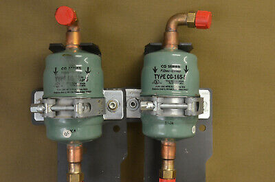 Sporlan VALVE CG Filter-Drier Type CG-165-S Assembly  (For Two)      (G-I)