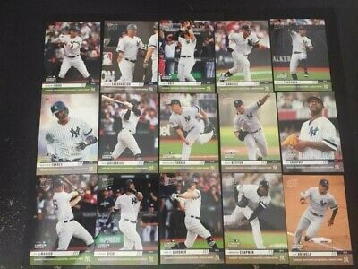 2019 Topps Now New York Yankees London Series Set 15 Cards IN HAND