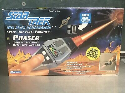 New Old Stock Playmates Star Trek The Next Generation Phaser Toy 1992