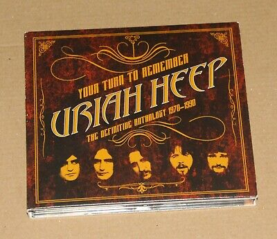 Uriah Heep - Your Turn To Remember: The Best Of 1970-1990, 2 x CD 2016 NM/Ex-
