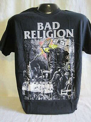 Bad Religion T-Shirt Graffin Gurewitz Music Punk Rock Band New 554