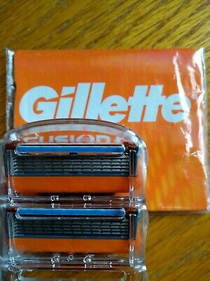 Double pack Gillette Fusion 5 or Fusion Power 5 genuine razor blade replacement