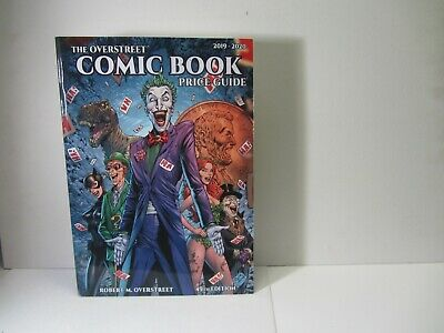 Overstreet 2019 2020 Comic Book Price Guide 49 Softcover Joker Free Ship