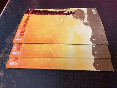 WALKING DEAD #193 1st PRINTING FINAL ISSUE LOW PRINT RUN 3 Comic Set