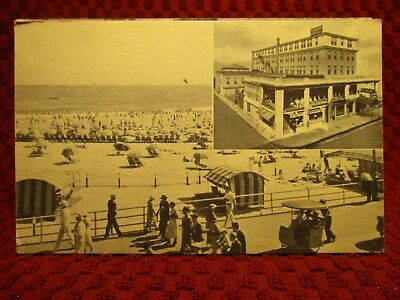1930'S. New Richmond Hotel. Atlantic City, Nj  Postcard J11