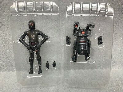 STAR WARS BLACK SERIES lot bt-1 beetee 0-0-0 triple zero in trays