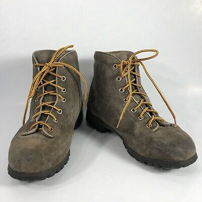 768d5b57754 PIVETTA FOR DMC VTG Brown Leather Made Italy Mountain Hiking Boots ...