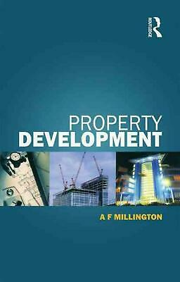 Property Development by Alan Millington (English) Paperback Book Free Shipping!