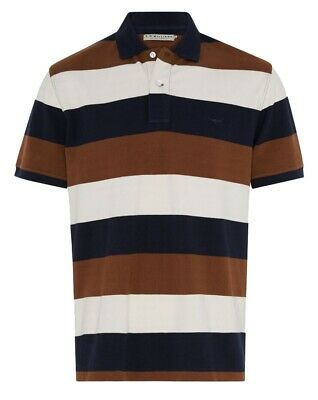 RM Williams Rod Polo Mid Stripe - RRP 79.99 - FREE EXPRESS POST