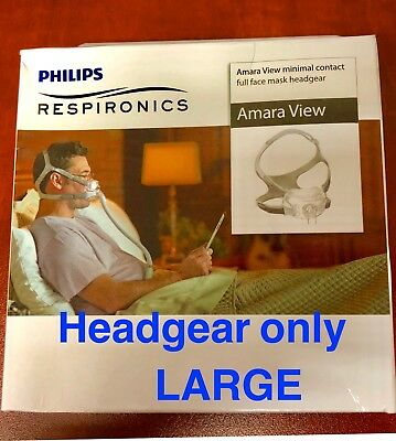 NEW PHILIPS Respironics Amara View Headgear Size Large 1090696