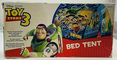 Toy Story 3 Bed Tent Fort NEW Never Opened FREE SHIPPING