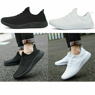 Mens Fly-knit Sneakers Breathable Running Tennis Athletic Casual Shoes US Size