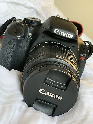 CANON EOS REBEL T3i 18.0 MP DIGITAL CAMERA W/ EFS 18-55 MM LENS AND ACCESSORIES