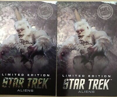 Star Trek Hologram Mugato 2 Cards, Dave and Busters