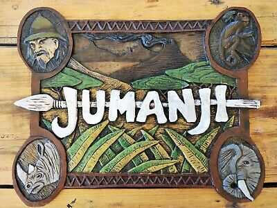 Jumanji Board Game 1995 Sign Replica