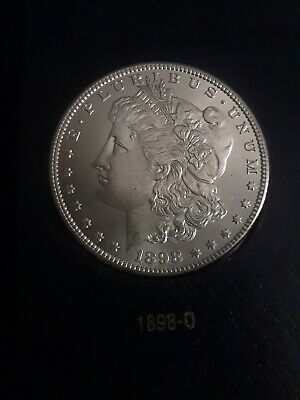 1898 O Morgan Silver Dollar - BU