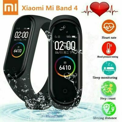 "Xiaomi Mi Band 4 Smart Bracelet 0.95"" Color AMOLED Screen BT5.0 Wristband"