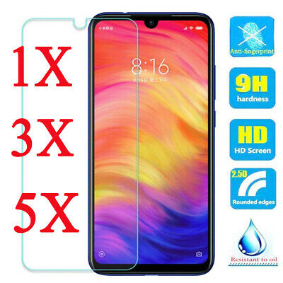 5X 9H Tempered Glass Screen Protector For XiaoMi Redmi 4X 5 6A 7 Note 7 6 5 Pro