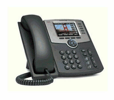 Cisco Spa525G2 5-Line Ip Phone With Color Display Poe Bluetooth + Power Supply