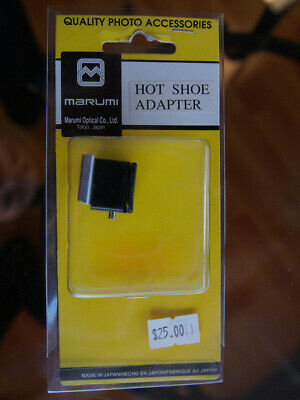 Marumi Camera Hot Shoe Adapter, Made in Japan