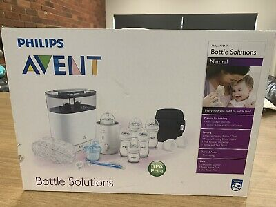 Avent natural Bottle Solutions Set BRAND NEW NEVER OPENED