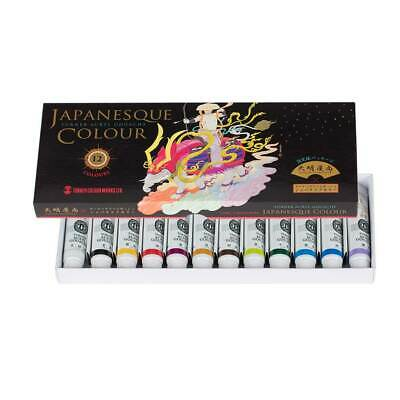 Turner Acryl Gouache Special Edition Japanesque 12 Color Set