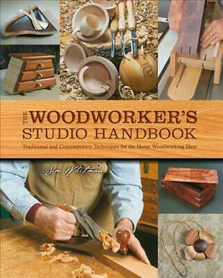 Woodworker's Studio Handbook by Jim Whitman (English) Paperback Book Free Shippi