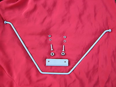 Bonnet Stay to fit Ferguson TE20, comes with spacers, nuts, bolts, and bracket